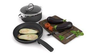 3D kitchenware