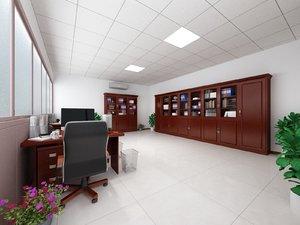 office 7000x5000 mm 3D model