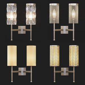 tigermoth lighting - stem 3D model