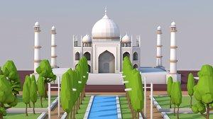 3D monument architecture