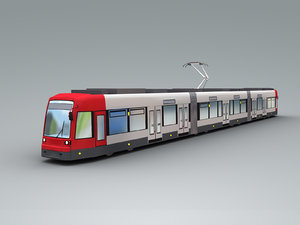 bremen tram 3D