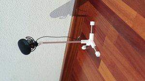 3D holder tripod flash