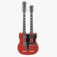 Gibson SG Double Necked Guitar(1)