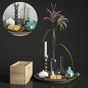 decor coffee table 3D