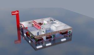 floor bank model