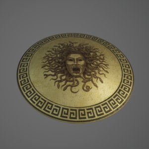 3D athena s shield