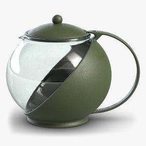 3D small teapot