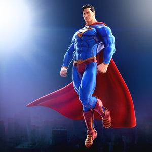 superman print 3D