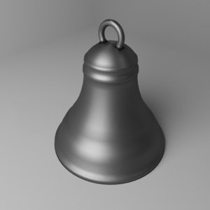 death bell 3D model