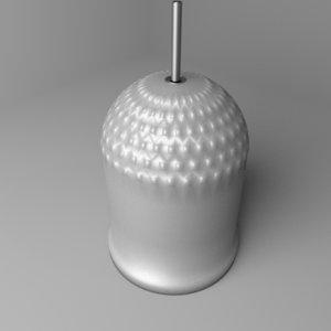 cylinder bell 3D model
