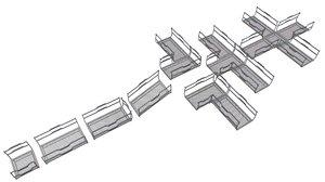 3D modular fi catwalk