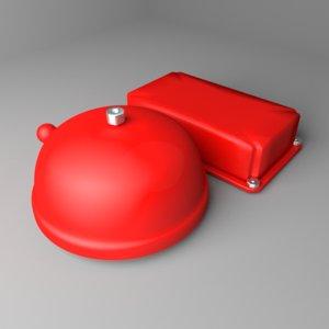 school bell 3D