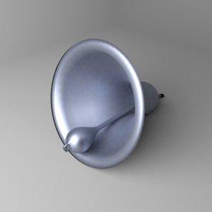 3D model dinner bell