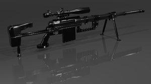 cheytac m200 intervention sniper rifle model