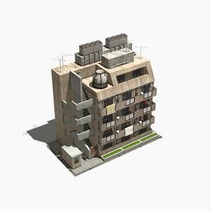 3D japanese style house 0001