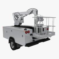 Crane Truck Body Shell