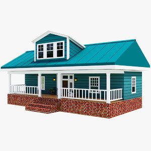 3D exterior design houses