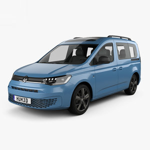 volkswagen caddy life 3D model
