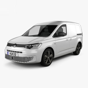 3D volkswagen caddy panel