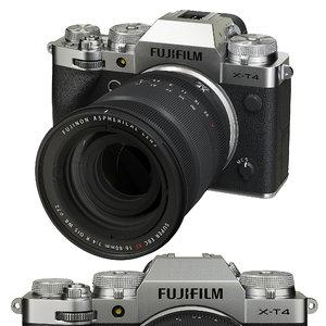 3D fujifilm x-t4 camera x model