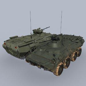 3D btr-82a apc
