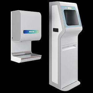 3D sanitizers arismo model