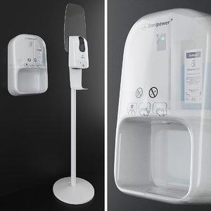 sanitizers steripower binele 3D model