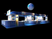 Holiday Tour Exhibition 6x15 Booth