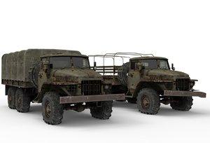 truck ural model