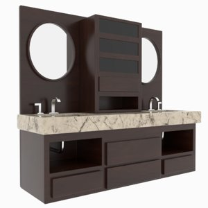 bathroom sink cabinets model