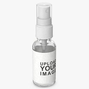 3D spray bottle mockup 100