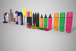 3D stationery set