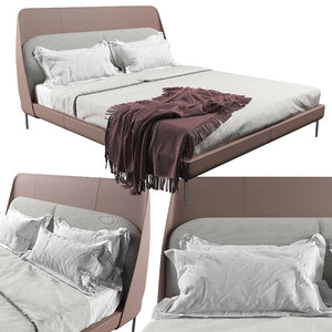 3D coup bed model