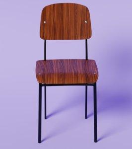standarwickd chair 3D model