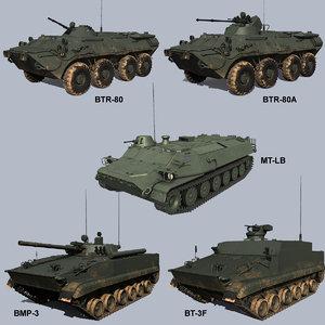 russian apcs 3D