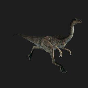 gall dinosaur animation 3D model