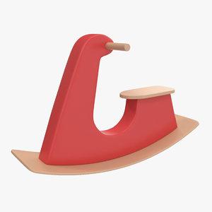 rocking toy 3D model