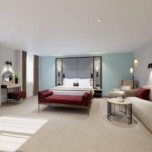 3D model hotel interiors