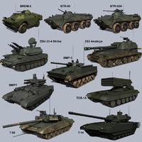 Russian AFVs