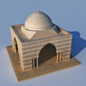 old islamic shade 3D model