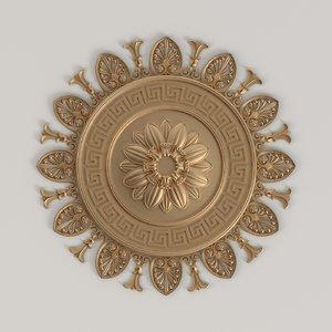 baroque rosette model