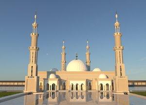 3D al fatah alim mosque