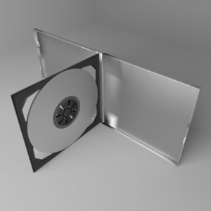 double cd case model