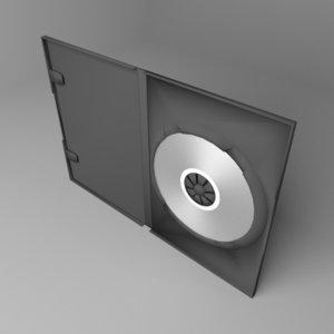 single dvd case 3D