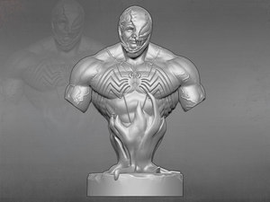 sculpture statue bust model