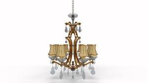 lighting chandelier lamp 3D model