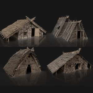 norseman viking building model