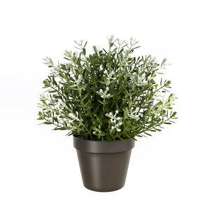 fejka artificial potted plants 3D model
