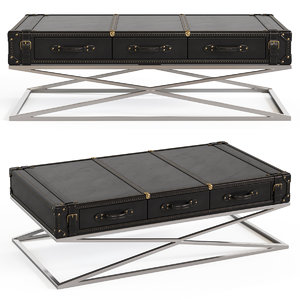 3D lehome t 131 coffee table model