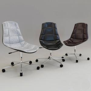 3D armchair hoff charm